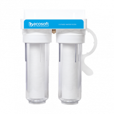 """Двойной фильтр для холодной воды ECOSOFT 3/4"""" (FPV2ECO)"""